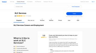 XLC Services Careers and Employment | Indeed.com