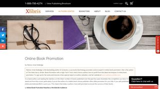 Xlibris Authors Center | Online Book Promotion