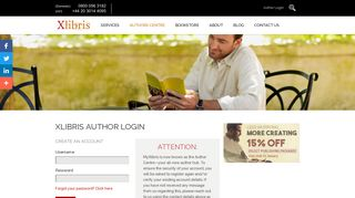 Login - Xlibris UK