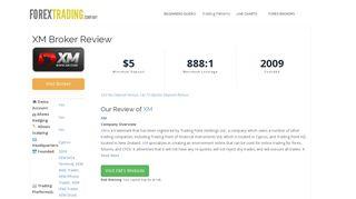 XM Forex Broker Review: Sign Up Bonus, Spreads & Demo Accounts