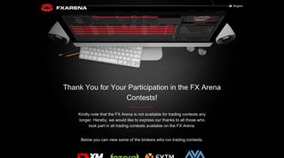 FX Arena - The World's First Forex Contests Platform