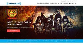 SiriusXM Canada: Satellite & Internet Radio