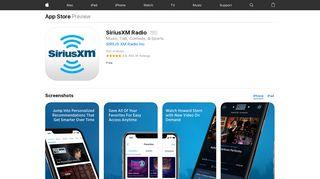 SiriusXM Radio on the App Store - iTunes - Apple