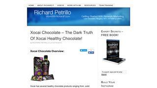 Xocai Chocolate – The Dark Truth Of Xocai Healthy Chocolate!