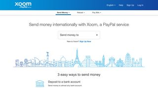 Xoom Is Part of PayPal | Xoom, a PayPal Service