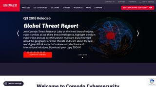 Comodo   Global Leader in Cyber Security Solutions