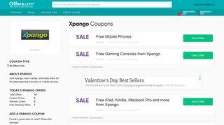 Xpango Coupons & Promo Codes 2019 + Free Shipping - Offers.com