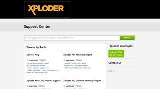 Xploder ltd | Portal