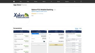 Xplore FCU Mobile Banking on the App Store - iTunes - Apple