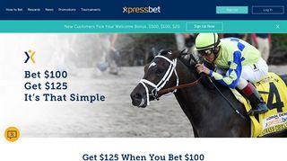 Bet and Get Bonus | Xpressbet
