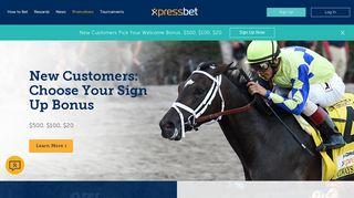 Promotions | Xpressbet