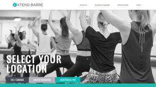 XtendBarre an International Barre Studio. - Xtend Barre   Xtend Barre