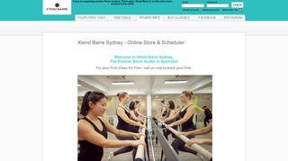 Xtend Barre Sydney Online