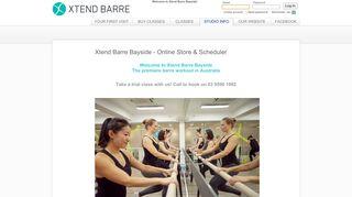 Xtend Barre Bayside Online