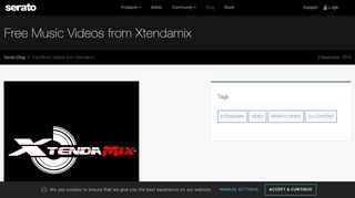 Free Music Videos from Xtendamix | Blog - Serato