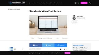 Xtendamix Video Pool Review - Digital DJ Tips
