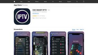 GSE SMART IPTV on the App Store - iTunes - Apple