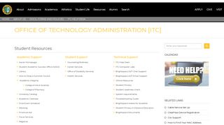 Student Resources - Xavier University of Louisiana