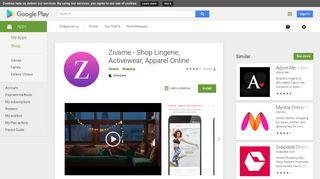 Zivame - Shop Lingerie, Activewear, Apparel Online - Apps on Google ...