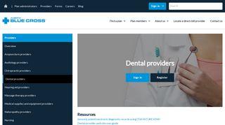 Dental providers | Overview - Alberta Blue Cross