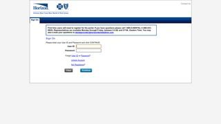Provider Portal - Sign On