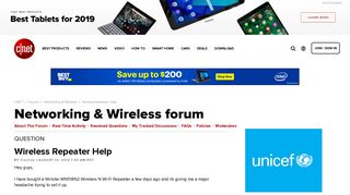 Wireless Repeater Help - Forums - CNET