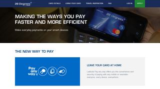 International Credit Card   Travel Card   28 Degrees Platinum ...