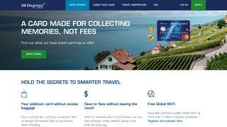 Travel Money Credit Card & Online Shopping   28 Degrees Platinum ...