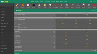 bet365 - Sports Betting, Casino, Poker, Games, Vegas, Bingo