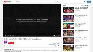 Bet365 Casino Review - £5500 FREE in Online Casino Bonuses ...
