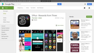 3Plus - Rewards from Three - Apps on Google Play