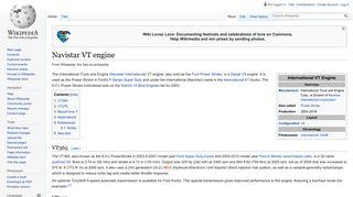Navistar VT engine - Wikipedia