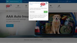 AAA Auto Insurance | AAA South Jersey