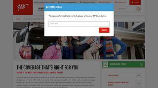 Insurance Coverage through AAA - AAA.com