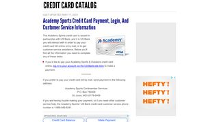 Academy Sports Credit Card Payment, Login, and Customer Service ...