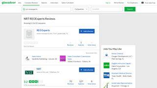 NRT REOExperts Reviews   Glassdoor