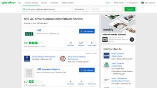 NRT LLC Senior Database Administrator Reviews   Glassdoor