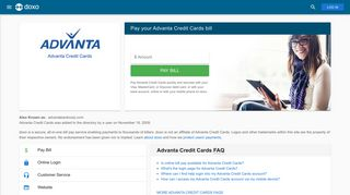 Advanta Credit Cards: Login, Bill Pay, Customer Service and Care ...
