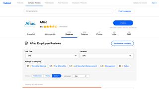 Working as an Administrator at Aflac: Employee Reviews | Indeed.com