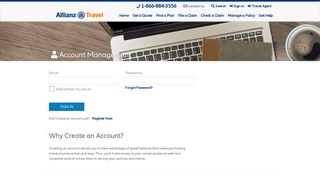 log in - Allianz Travel Insurance