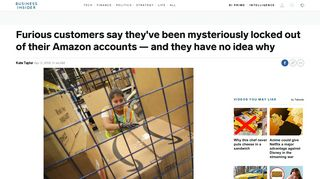 Amazon closes users' accounts, and customers are fighting back ...