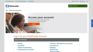 Nationwide Login - Get Access to Your Nationwide Account - Nationwide