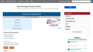 AmeriCU Credit Union - Yorkville, NY at 4957 ... - Credit Unions Online