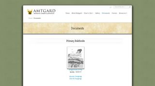 Documents | Amtgard.com