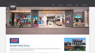 Spotlight Retail Group | SGH Site - Spotlight Group Holdings