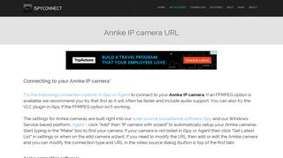 Connect to Annke IP cameras