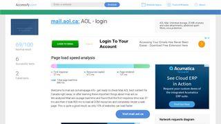 Access mail.aol.ca. AOL - login