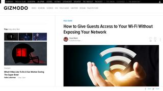 How to Give Guests Access to Your Wi-Fi Without Exposing Your ...