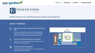 Virtual Sub Training - App-Garden