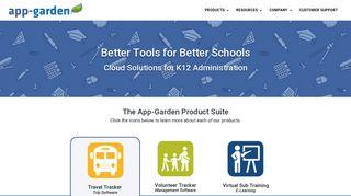 App-Garden: Cloud Solutions for K12 Administration